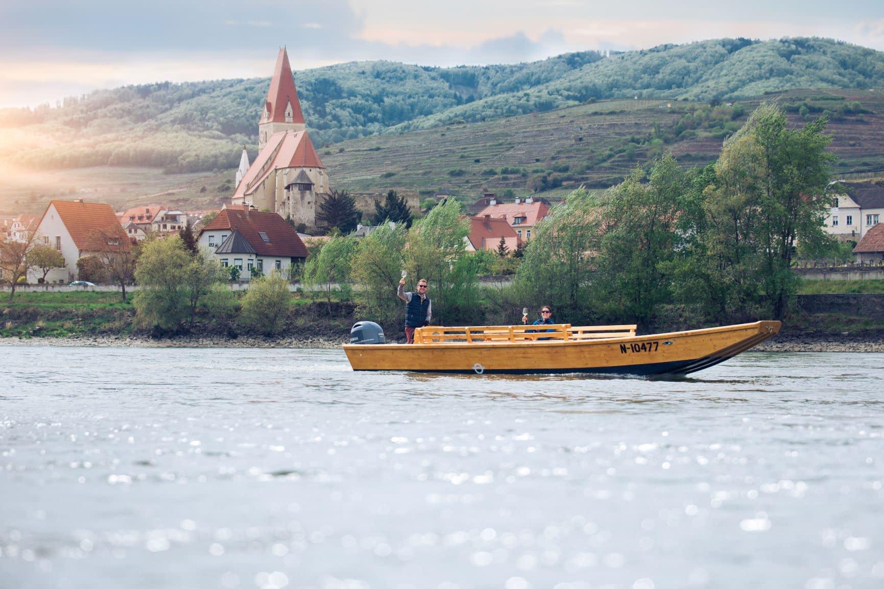 Zillenfahrt Weißenkirchen in der Wachau